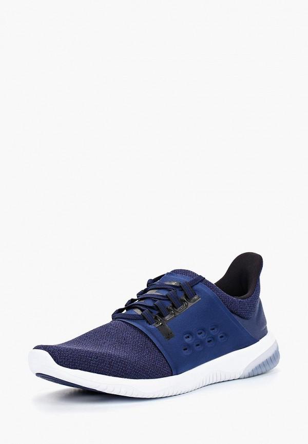 Фото - мужские кроссовки ASICS синего цвета
