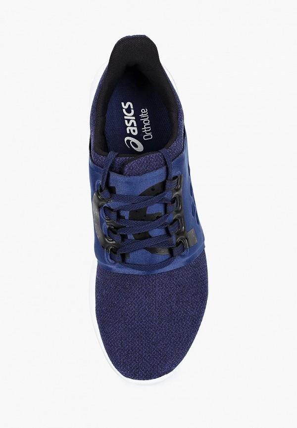Фото 4 - мужские кроссовки ASICS синего цвета