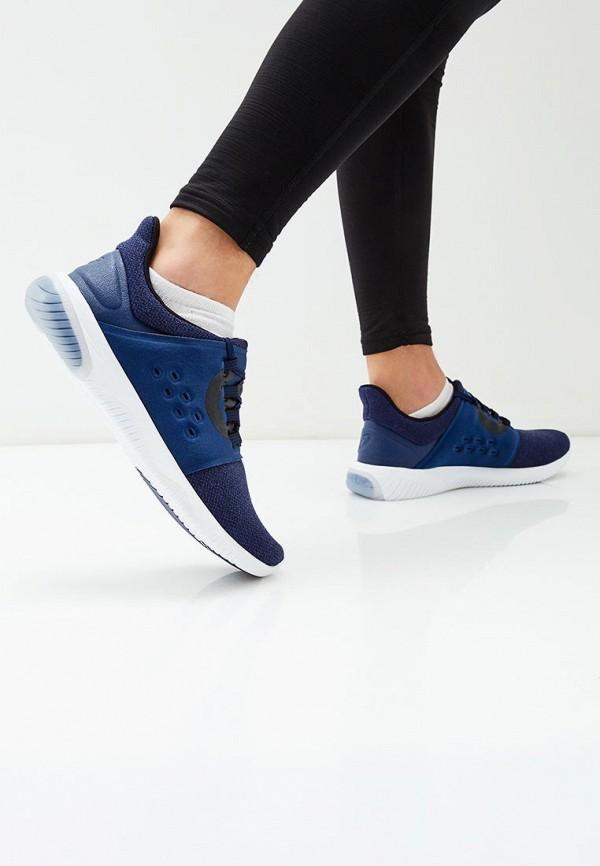Фото 5 - мужские кроссовки ASICS синего цвета