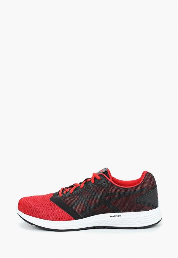 Мужские красные кроссовки Asics