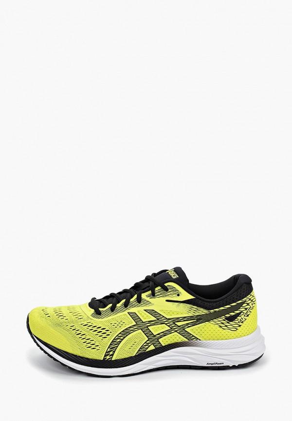 мужские кроссовки asics, желтые