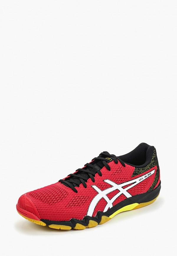 Фото 2 - мужские кроссовки ASICS красного цвета