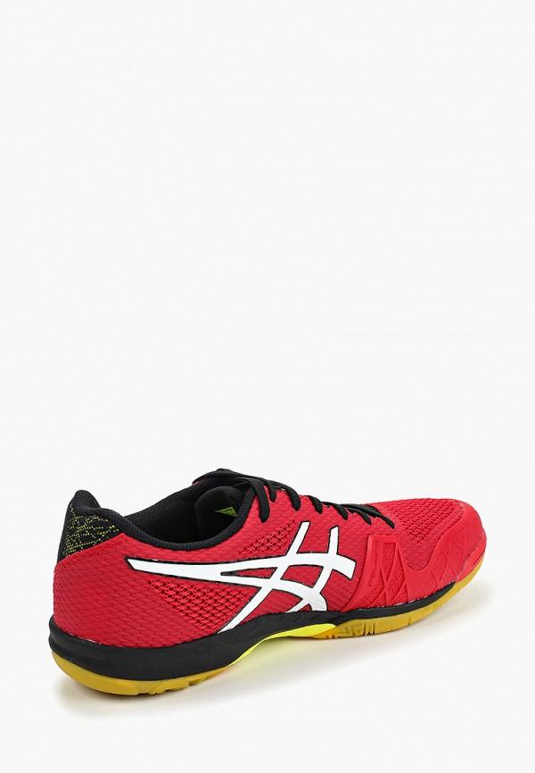Фото 3 - мужские кроссовки ASICS красного цвета