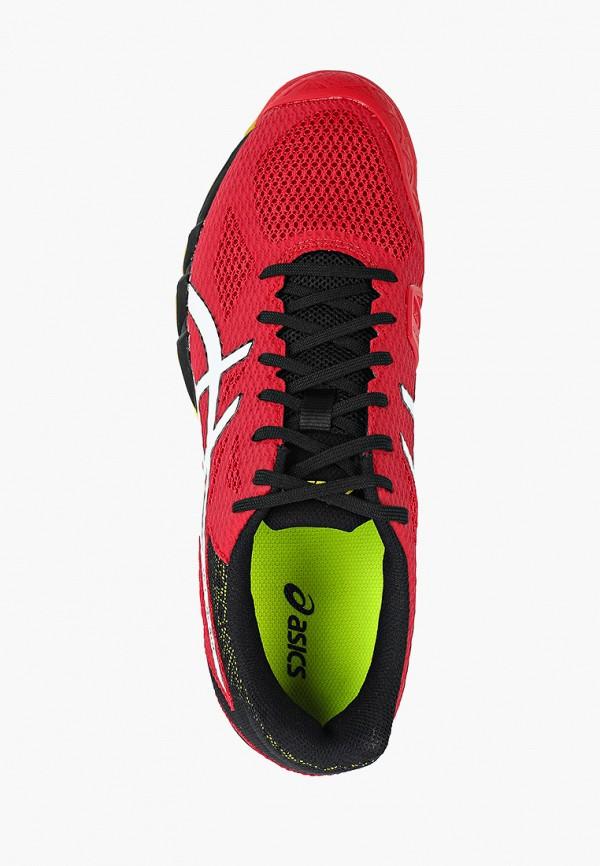 Фото 4 - мужские кроссовки ASICS красного цвета
