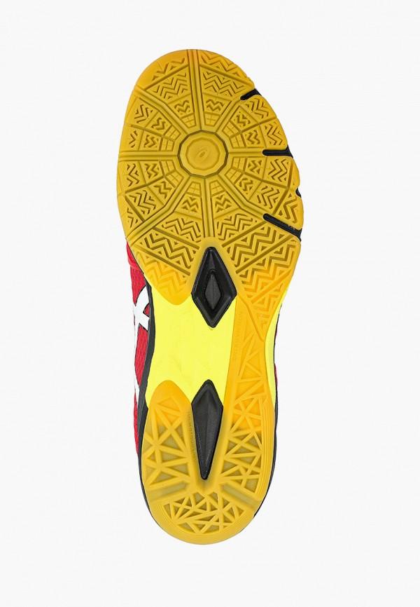 Фото 5 - мужские кроссовки ASICS красного цвета
