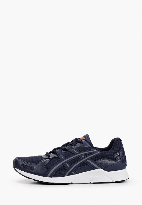 мужские низкие кроссовки asics, синие