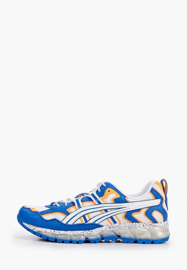 мужские кроссовки asics, голубые