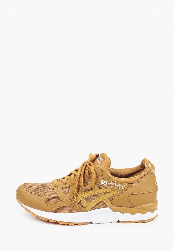 мужские низкие кроссовки asics, коричневые