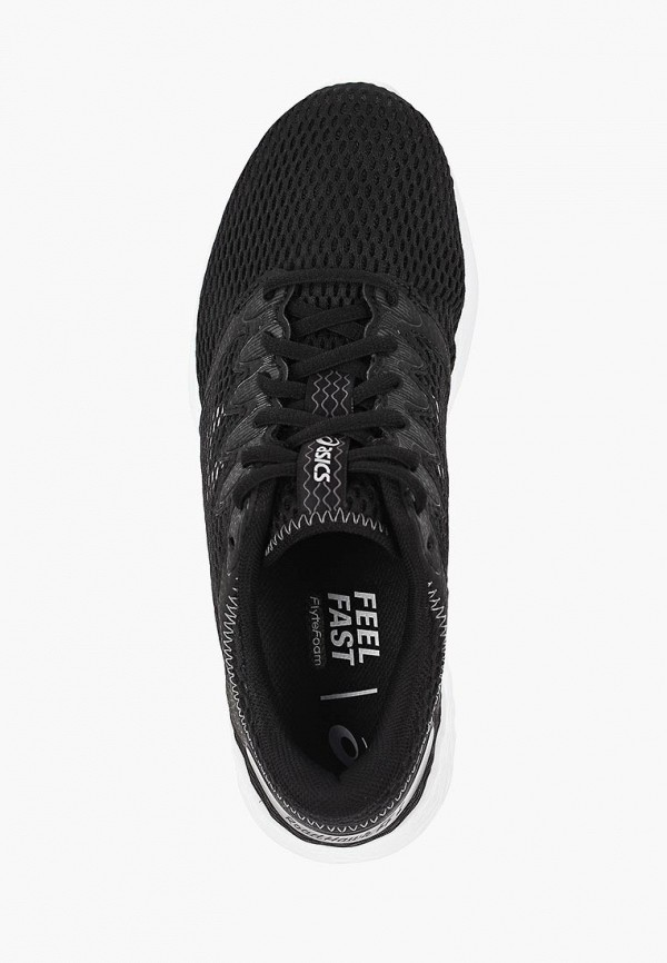 Фото 4 - женские кроссовки ASICS черного цвета