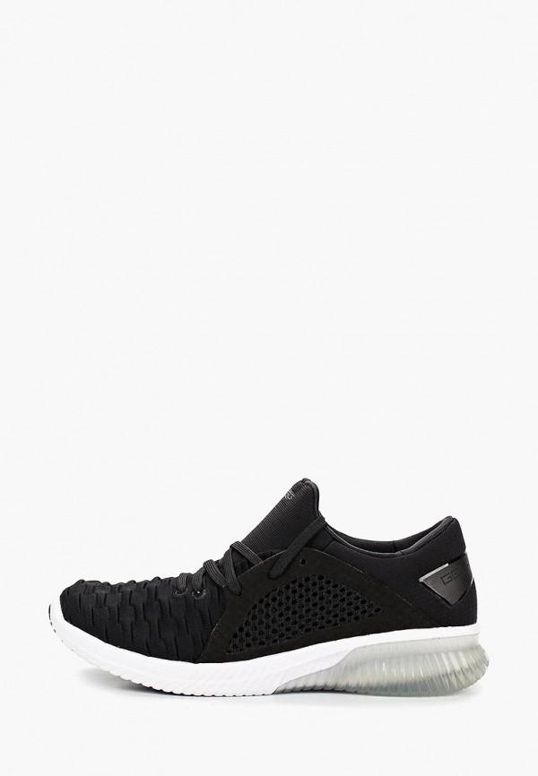 Фото - женские кроссовки ASICS черного цвета