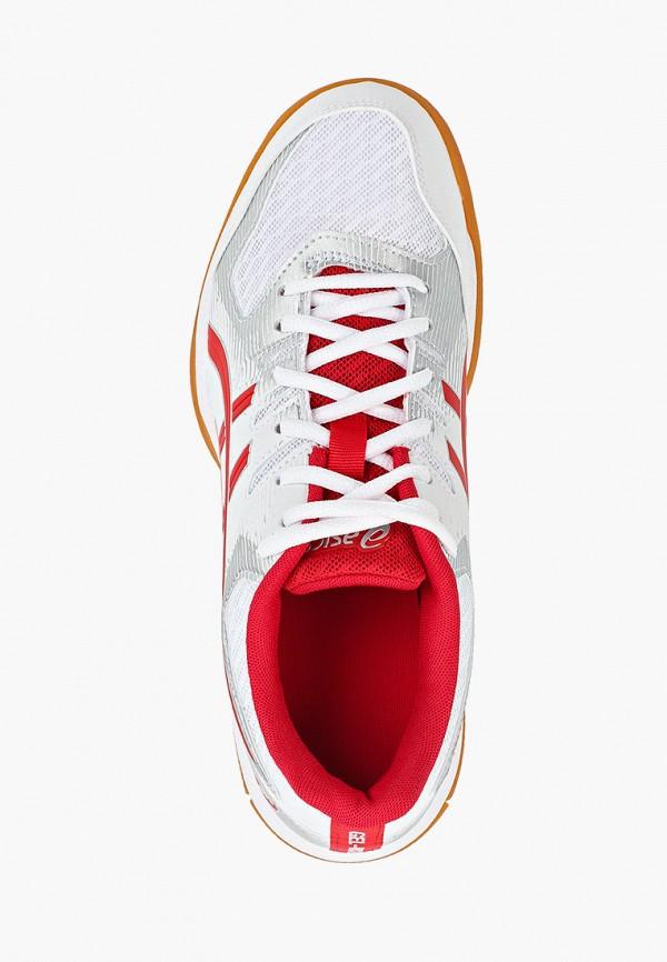 Фото 4 - женские кроссовки ASICS белого цвета