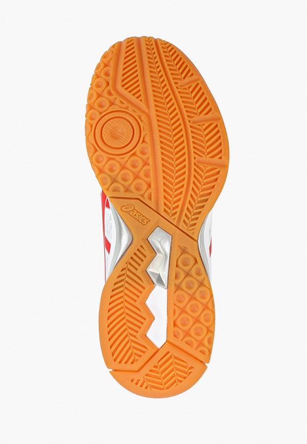 Фото 5 - женские кроссовки ASICS белого цвета