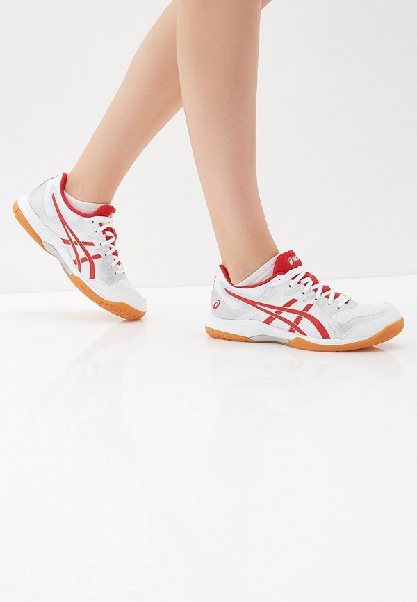Фото 6 - женские кроссовки ASICS белого цвета