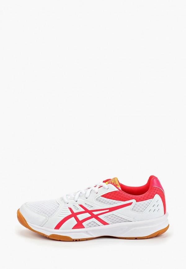 Фото - женские кроссовки ASICS белого цвета