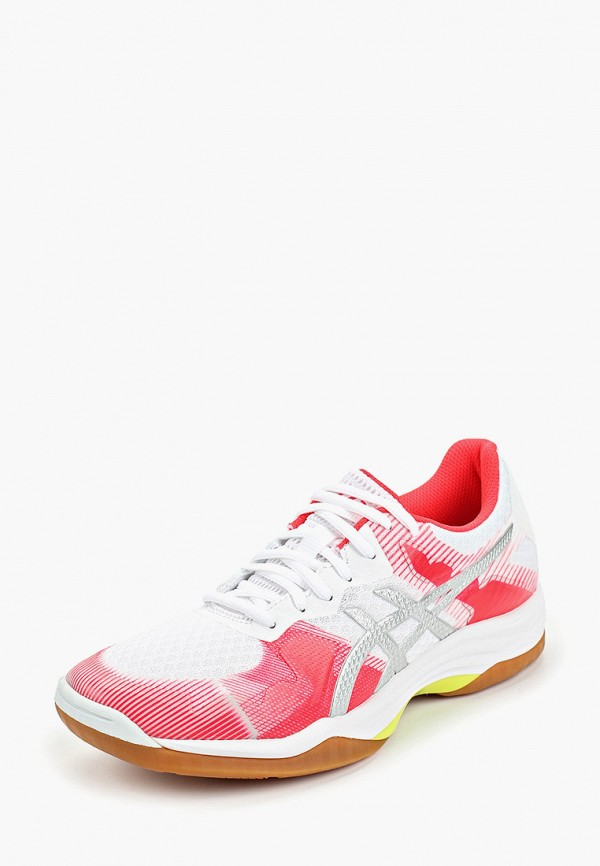 Фото 2 - женские кроссовки ASICS розового цвета