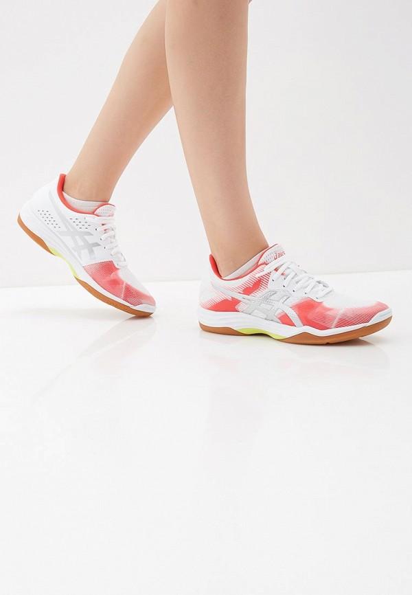 Фото 6 - женские кроссовки ASICS розового цвета