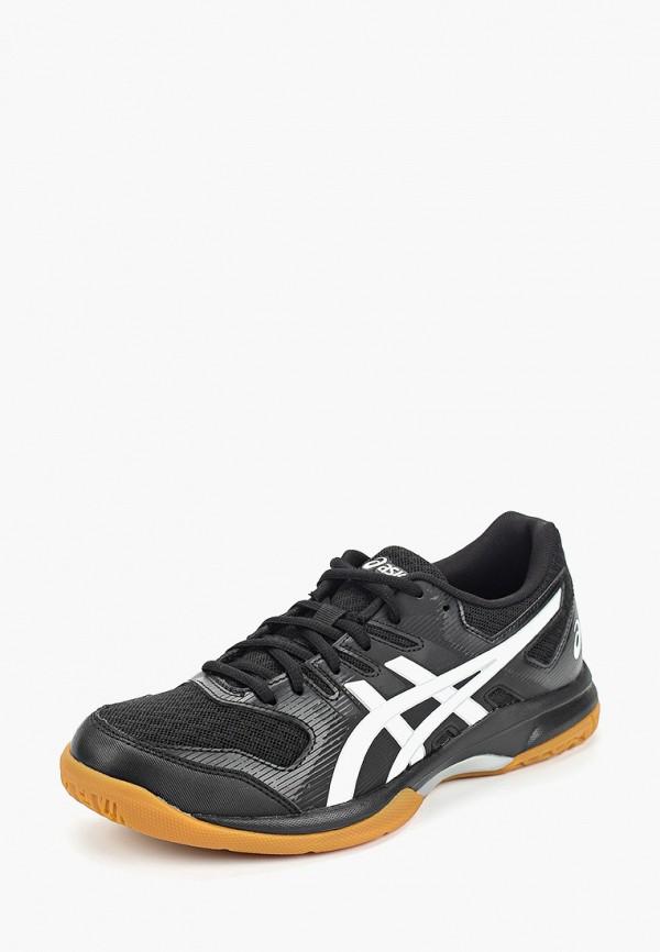 Фото 2 - женские кроссовки ASICS черного цвета