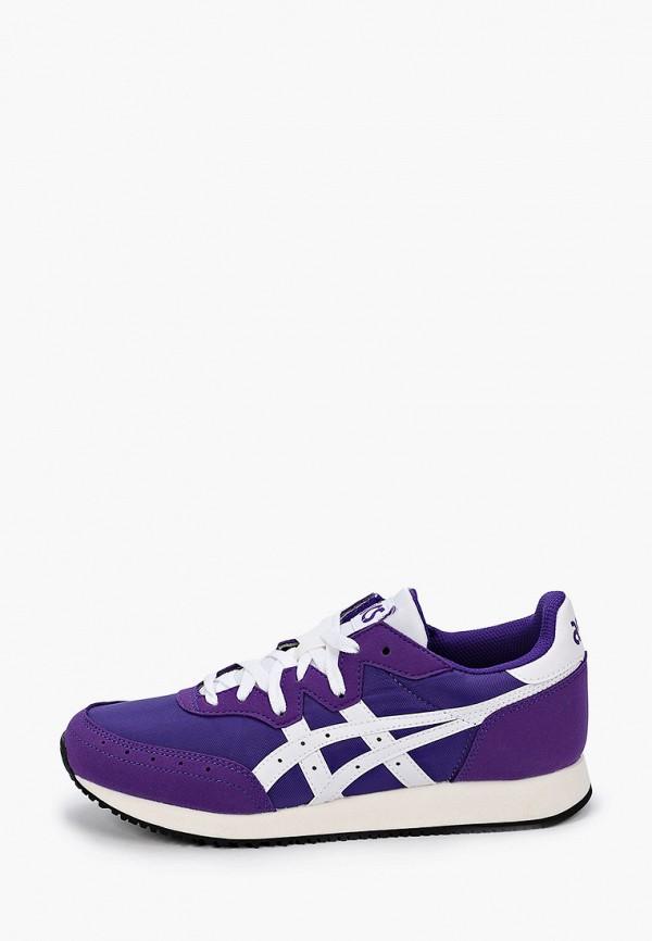 женские кроссовки asics, фиолетовые