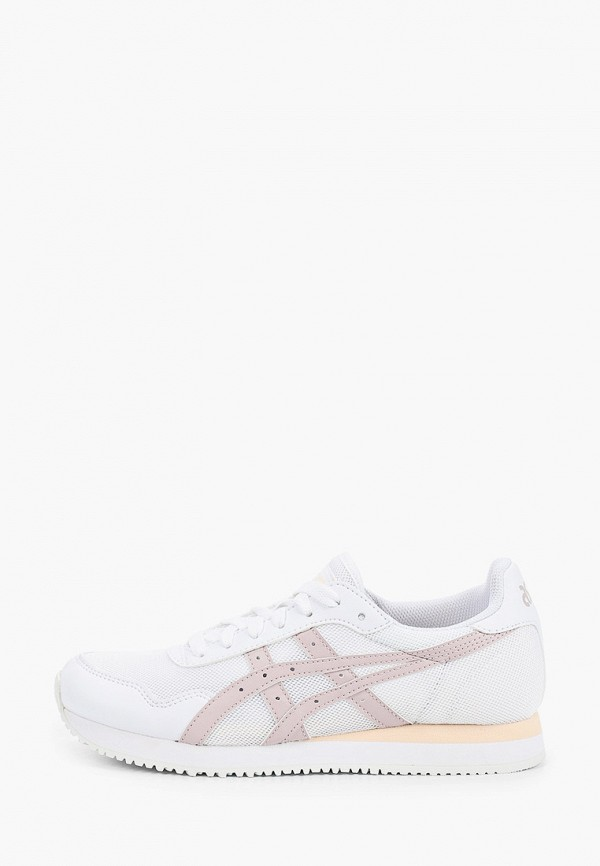 женские кроссовки asics, белые