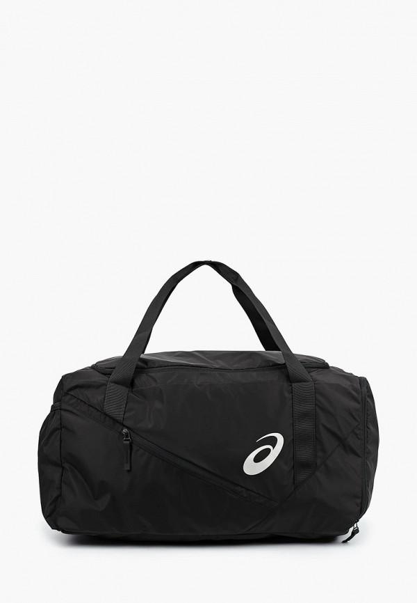 женская спортивные сумка asics, черная