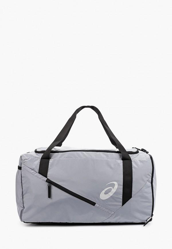женская спортивные сумка asics, серая
