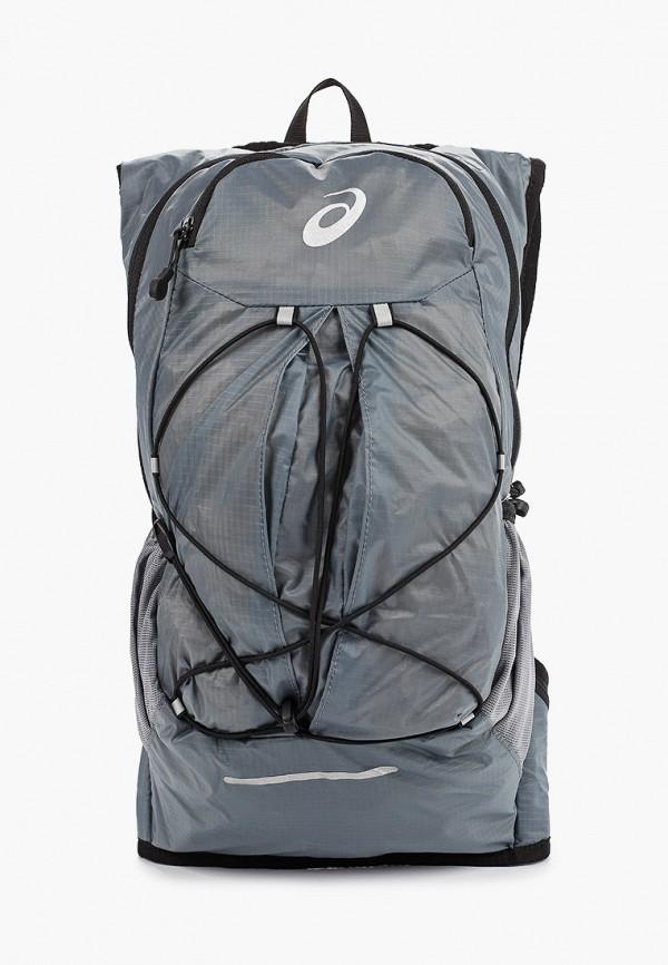 женский рюкзак asics, серый