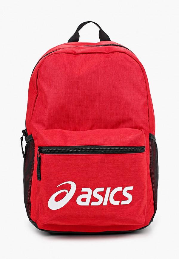 женский рюкзак asics, красный