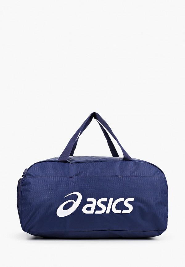 женская сумка asics, синяя