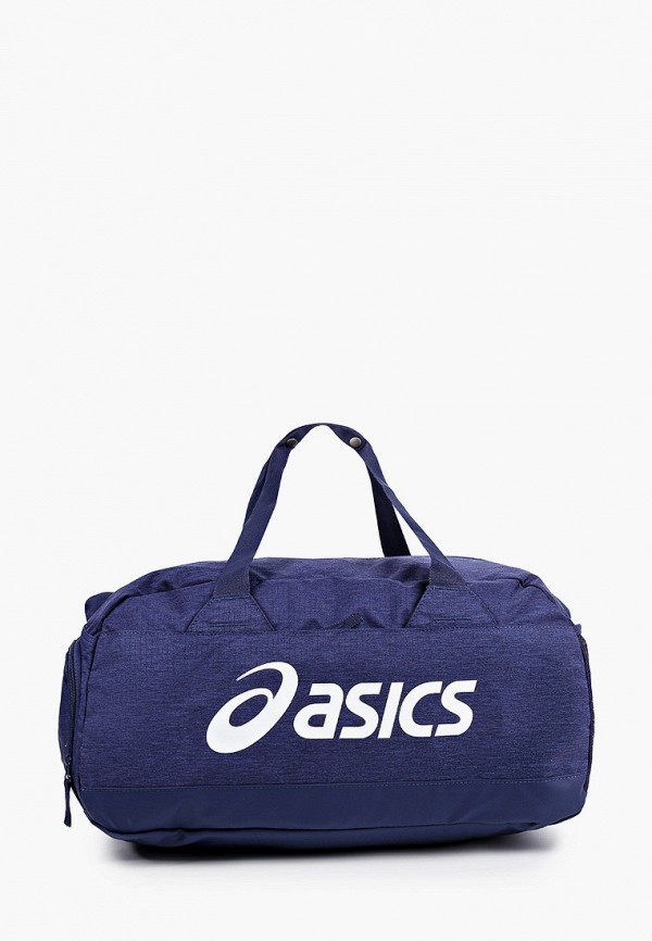 женская спортивные сумка asics, синяя