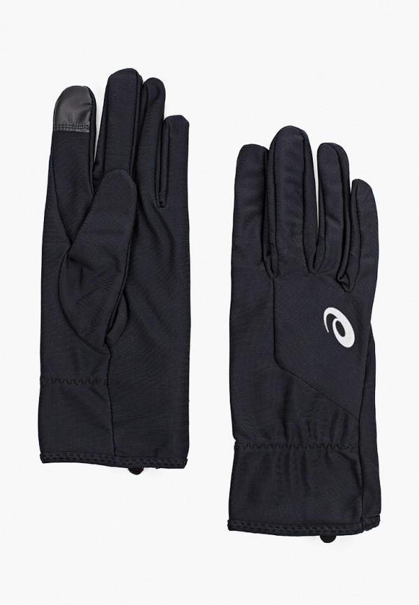 мужские перчатки asics, черные