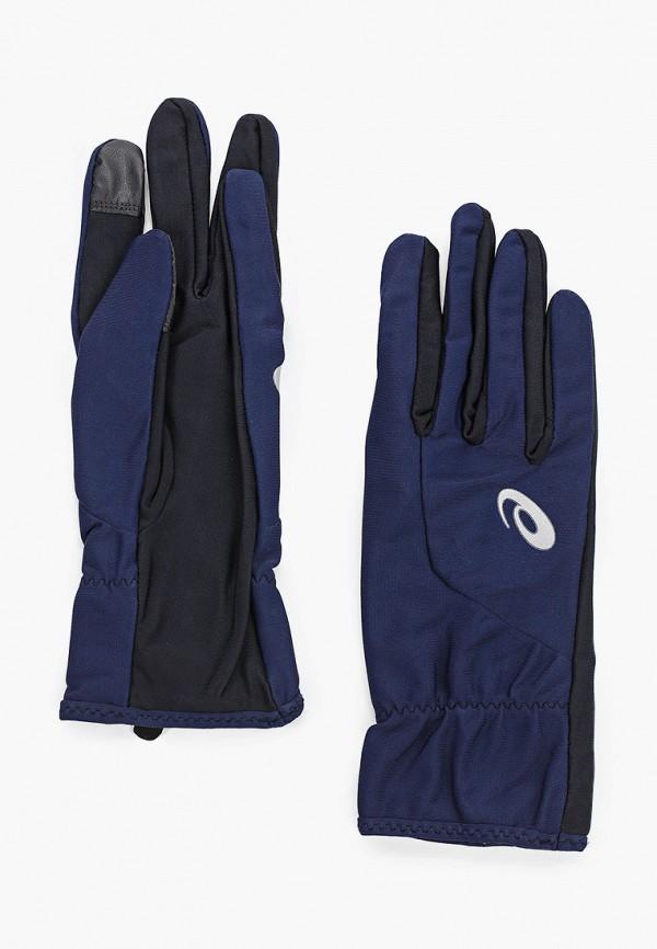 мужские перчатки asics, синие