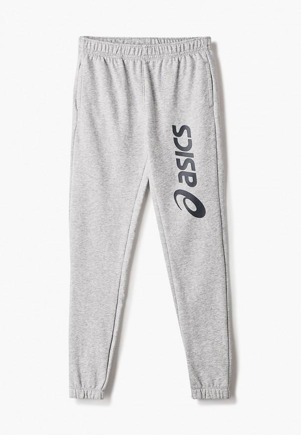 спортивные брюки asics для мальчика, серые
