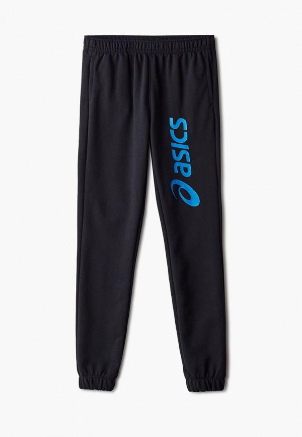 спортивные брюки asics для мальчика, черные
