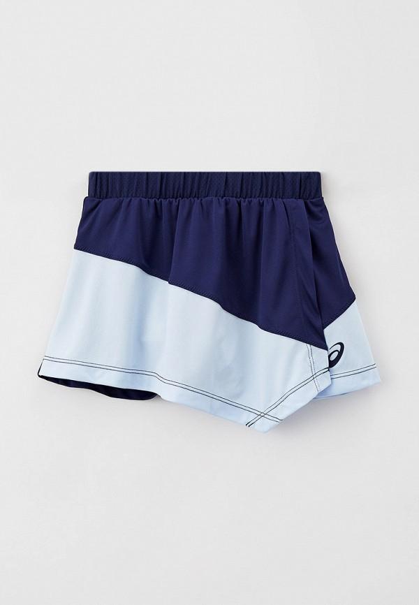 юбка asics для девочки, синяя