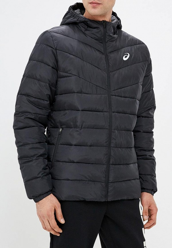 мужская куртка asics, черная
