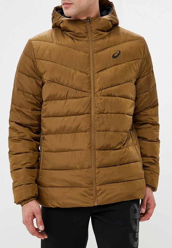мужская куртка asics, хаки