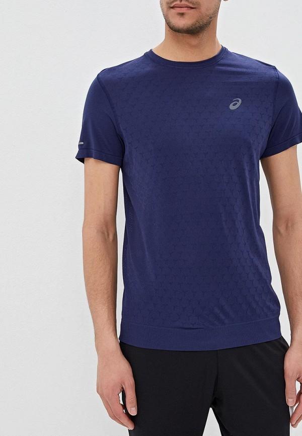 Футболка спортивная ASICS ASICS AS455EMDRHI0 мужская беговая футболка asics 134084 0516 ss top