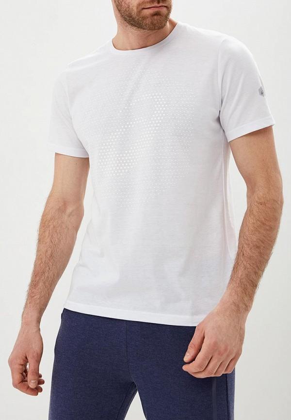 Фото - мужскую футболку ASICS белого цвета