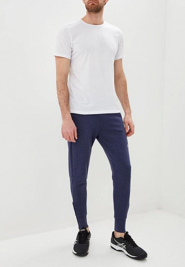 Фото 2 - мужскую футболку ASICS белого цвета