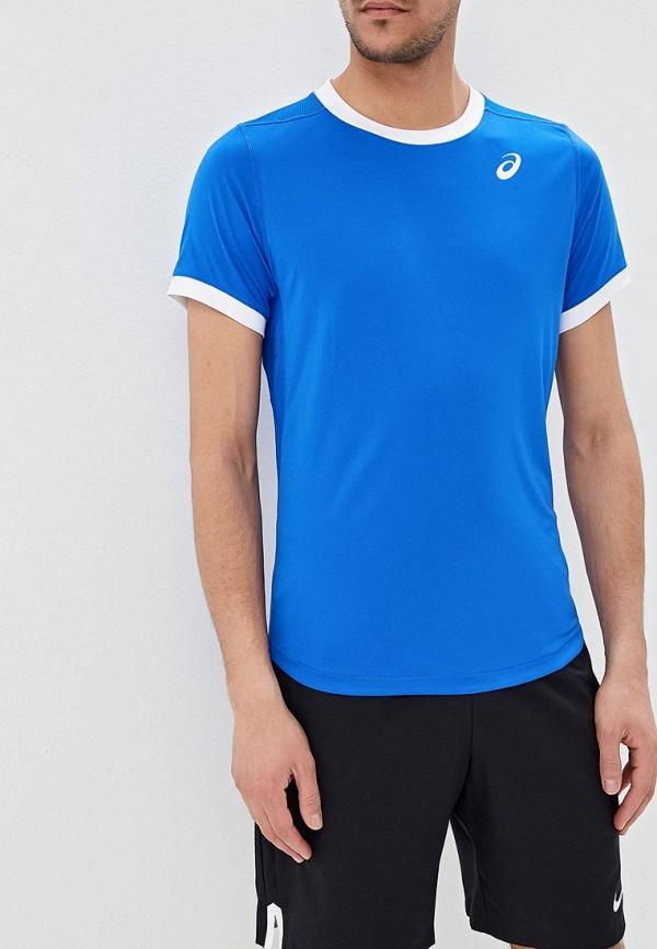 Футболка спортивная ASICS ASICS AS455EMDRHJ9 мужская беговая футболка asics 134084 0516 ss top