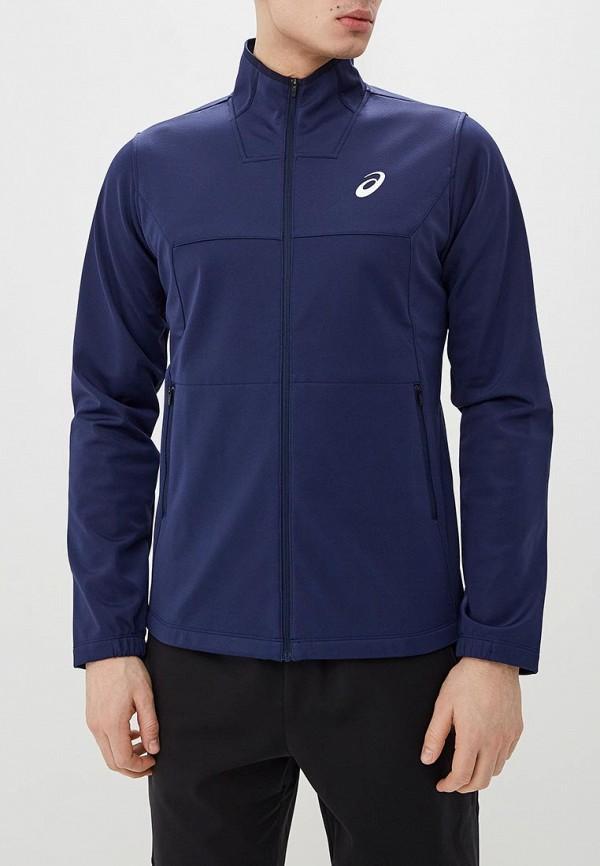 мужская куртка asics, синяя