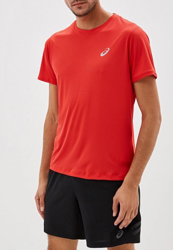 Футболка спортивная ASICS ASICS AS455EMFPTB8 мужская беговая футболка asics 134084 0516 ss top