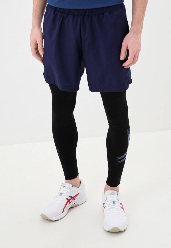 мужские спортивные шорты asics, синие
