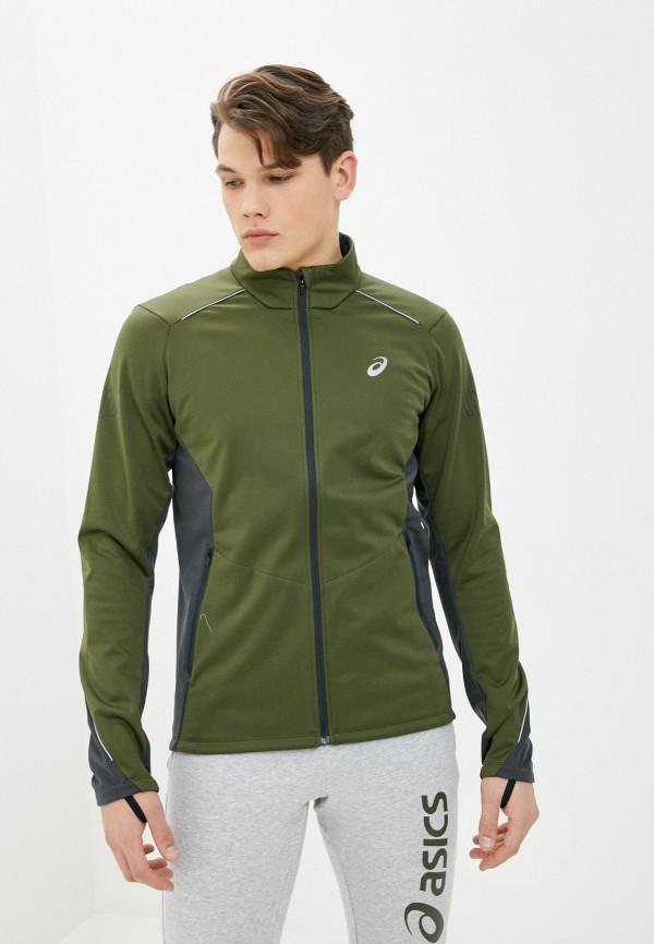 мужская спортивные куртка asics, хаки