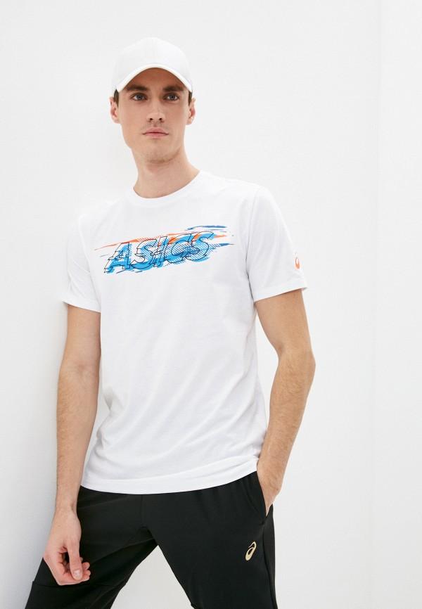 мужская спортивные футболка asics, белая