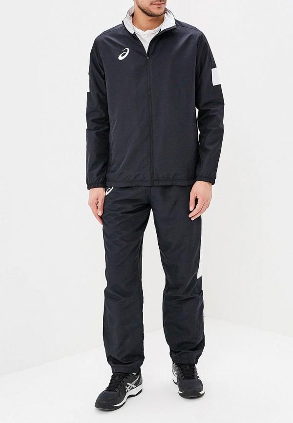 мужской спортивные спортивный костюм asics, черный