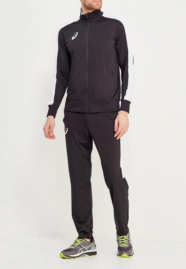 мужской спортивный костюм asics, черный