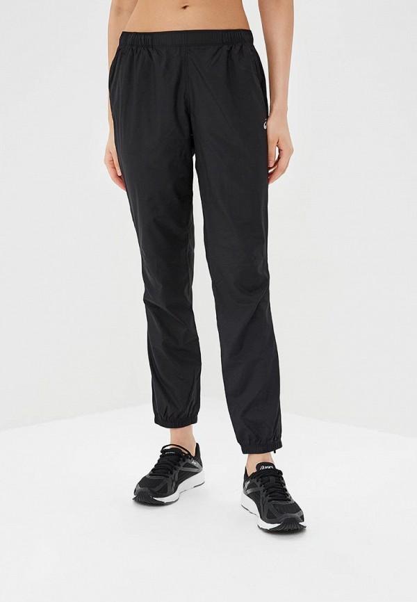 женские спортивные спортивные брюки asics, черные