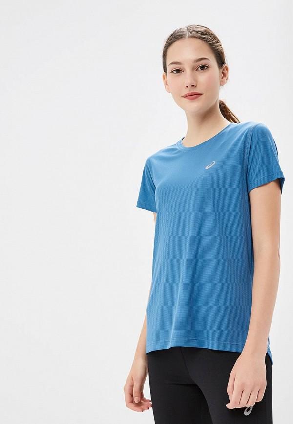 Футболка ASICS ASICS AS455EWBRMK7 футболка asics футболка asics stripe ss top