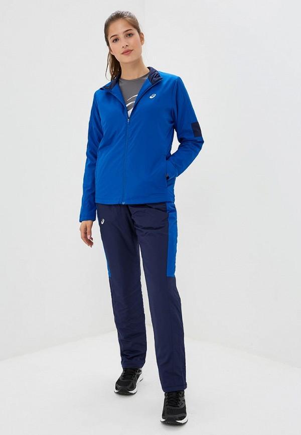 женский спортивные костюм asics, синий